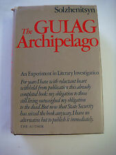 THE GULAG ARCHIPELAGO BY ALEKSANDR SOLZHENITSYN FIRST US EDITION