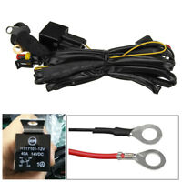 For BMW R1200GS F800GS/ADV 12V 40A LED Fog Lights Wiring Harness Switch On/Off