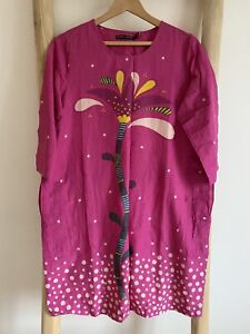 Gudrun Sjoden  Stora Frö Cotton Tunic / Dress S(10)