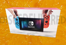 New Nintendo Switch Console with Neon Blue and Neon Red Joy-Con