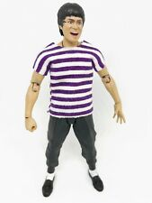 """NOX-T-SPP: 1/12 Purple Stripe T-Shirt for 6"""" Action Figures, No Tracking"""