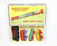 Dinky 19 Mixed Goods Train Set In Its Original Box - Near Mint Vintage Rare Set