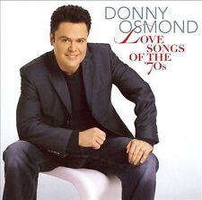 DONNY OSMOND - LOVE SONGS OF THE '70S NEW CD