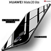 COVER per Huawei Mate 20 Lite ORIGINALE Crystal Glass con RETRO VETRO TEMPERATO