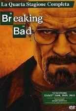 Dvd BREAKING BAD - Stagione 04 - (4 Dischi) .....NUOVO