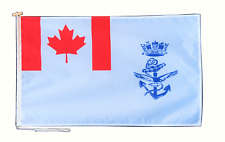 More details for royal canadian navy ensign flag with rope and toggle - various sizes