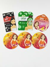 Yes To Masks Lot of 6 Belly Up- Tomatoes- Cucumbers & Booty-ful Paper Mask
