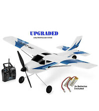 Rc Plane 3 Channel Remote Control Airplane Ready to Fly Rc Planes for Adults (a)