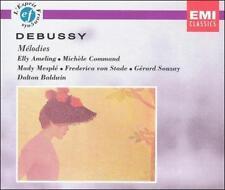 Claude Debussy: Me'lodies 3 CD EMI Set Ameling Command Mesple von Stade Souzay