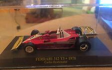"""DIE CAST """" FERRARI 312 T3 - 1978 CARLOS REUTEMANN + BOX 1 """"  1/43"""