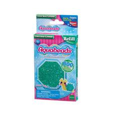 Aquabeads 600 Glitzerperlen Grün Refill Nachfüllpack Epoch Bastelperlen Perlen
