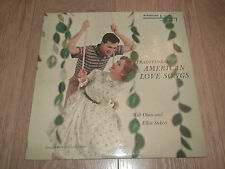 "MILT OKUN & ELLEN STEKERT "" TRADITIONAL AMERICAN LOVE SONGS "" RARE VINYL LP EX"