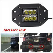 1pcs 5inch 18W Cree LED Work Light Bar 4WD Offroad Spot Fog ATV SUV Driving Lamp