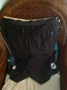 nike miami dolphins football shorts new with tags size 4XL mens