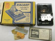 Kalart Custom 8 Splicer Movie Film Splicing Platform - NO CEMENT - VINTAGE E58