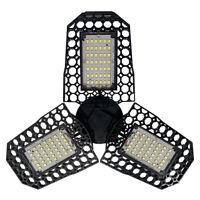 60W LED Garagenleuchte Garage Werkstatt Deckenleuchte Leuchte Verformbare Lampe