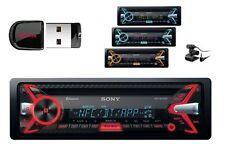 Sony mex-n5100bt autorradio con CD mp3 USB 4#55w Bluetooth variocolor + 8gb Stick