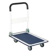 Durable 330lbs Platform Cart Folding Dolly Push Hand Truck Moving Warehouse Cart