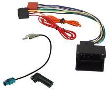 Adaptador con ISO cables enchufes para autoradio de Seat,Skoda,Audi,Volkswagen
