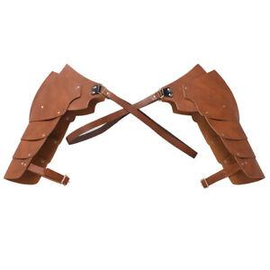 Medieval Men Warrior Armor Shoulder Harness Roman Gladiator Cosplay Accessories