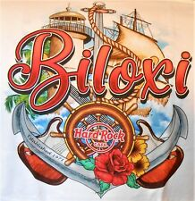 HARD ROCK CAFE BILOXI V17 CITY TEE T-SHIRT SIZE ADULT LARGE - NEW WITH TAGS