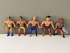 Fantasy action Figure Lot WARRIOR BEASTS Remco MOTU He-Man like 1980s Warlord