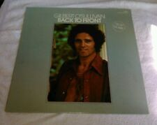 Gilbert O'Sullivan Back To Front LP MAM 1972 Clair Out Of The Question But I'm N