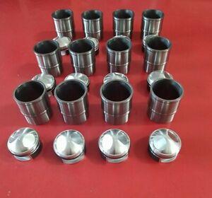 set Pistoni e cilindri lamborghini miura pistons kolben cylinders lamborghini