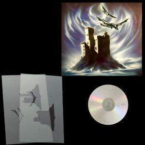 Schablonen Airbrush Step by Step Ritterburg mit Drache # 0190 & Anleitungs CD