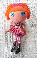 "Lalaloopsy 12"" Doll,Orange Hair,w/Pink Plaid Skirt,Black High Top Boots- Clean"