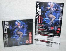 Madonna Rebel Heart Tour Live Taiwan DVD+CD+flyer w/OBI (digipak)