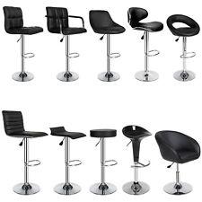 Juego Set 2x Taburetes Bar Oficina Casa Diseño Barra Lounge Sintético Polipiel