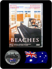 Beaches - Bette Midler, Barbara Hershey (DVD, VGC, FAST POST)
