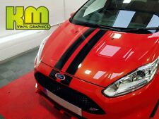 FORD FIESTA MK7 - ST Style Roof Bonnet and Boot Stripes - Various colours