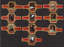 Raymond Ceulemans Billiards Scarce Cigar Bands from Europe