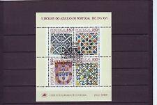 Portogallo-SGMS 1864 NH/CTO 1981 Piastrelle copre emissione serie 1 - 4