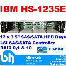 IBM Quad Core Xeon Storage Server 2GHZ 8GB SAS Xyratx HS1235E-23H1-12TB-0IBM 2U
