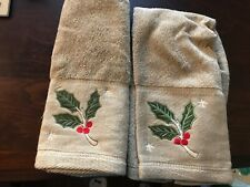 Bathroom hand towel IVY- new without tags