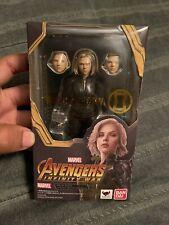 BANDAI S.H.Figuarts Marvel Avengers Infinity War BLACK WIDOW shf action figure