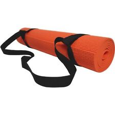 Ajustable Sling Carrier Shoulder Carry Strap Belt For 8/10/15mm Yoga Mat Black