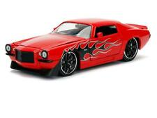 1/24 Jada 1971 Chevrolet Camaro SS Red with Flames Diecast Model Car RED 99969