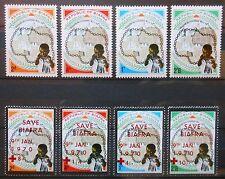 Biafra, lot de timbres neufs sans charnière, N**