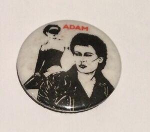 Adam And The Ants Badge Punk Memorabilia New Wave Ant Music Adam Ant
