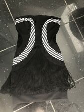sass and bide dress Lace Bodies With Fringe Vintage Size38 US2