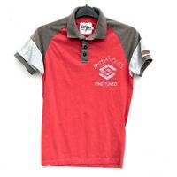 Smith And Jones Somerford Polo Shirt Size Small Mens Clothing Formula One Red
