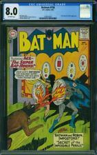 Batman 158 CGC 8.0 -- 1963 -- Super Bat-Hound. Bat-Mite. Moldoff cvr #1298555001