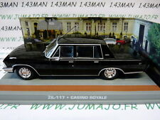 1/43 IXO altaya 007 JAMES BOND anglais n° 104 ZIL 117 casino royale