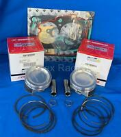 Brand New Polaris 2005-2014 RZR 800 2MM O//S Wiseco Piston Kit Sportsman X2 H.O
