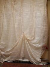8351001 - Tenda in misto lino, Fil-coupè. Taglio da 4,50 metri x H. 320, Piombo.