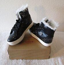 NIB Osiris Venezia Girls High Top Skate Shoes Sneakers 7 Black MSRP$55